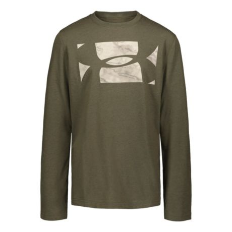 Under Armour® Boys' Sky Reaper Long-Sleeve T-Shirt - Marine Green