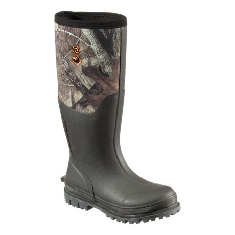 SHE Outdoor® Women's Camo Utility Waterproof Rubber Boots