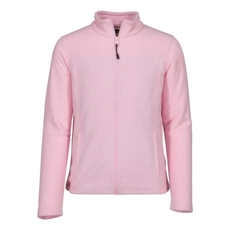 Bass Pro Shops® Girls' Full-Zip Fleece Jacket - Pink Lady