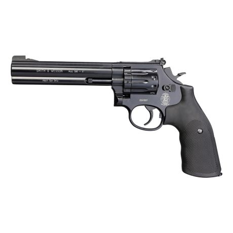 Smith & Wesson 586 CO2 Pellet Revolver - Blued