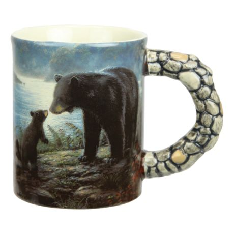 Rivers Edge 15 oz. Bear Scene Mug