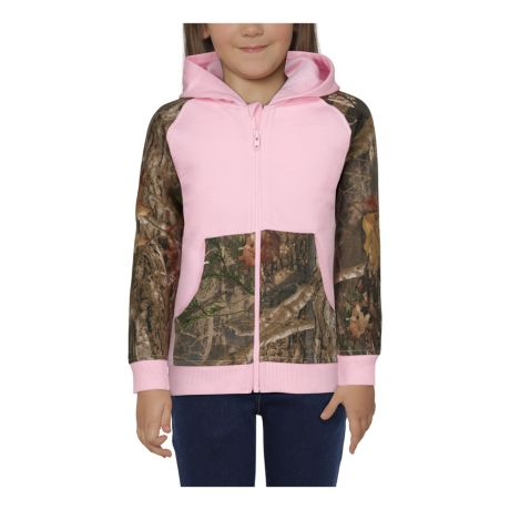 Bass Pro Shops® Infants'/Toddlers' TrueTimber Camo Full-Zip Raglan Long-Sleeve Hoodie