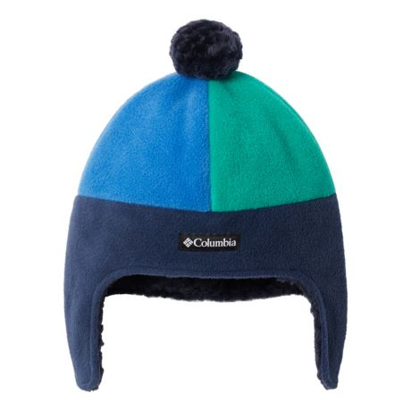 Columbia™ Infants'/Toddlers' Frosty Trail™ Earflap Beanie - Navy/Bright Indigo