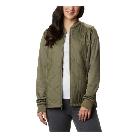 Columbia™ Women's Piney Ridge™ Hybrid Full Zip Jacket - Stone Green
