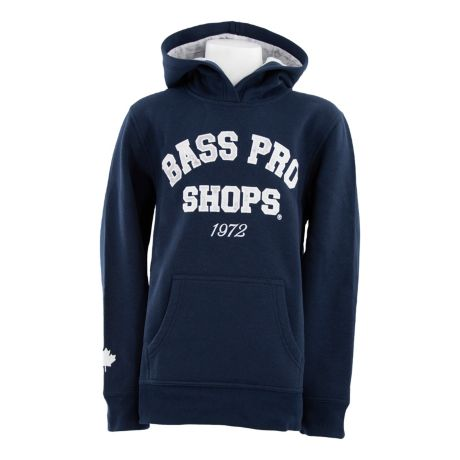Bass Pro Shops® Canada Youth Game Day Hoodie - Navy Blazer