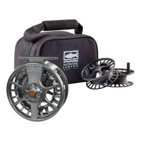 Waterworks Lamson Liquid 3-Pack Fly Reel & Spools