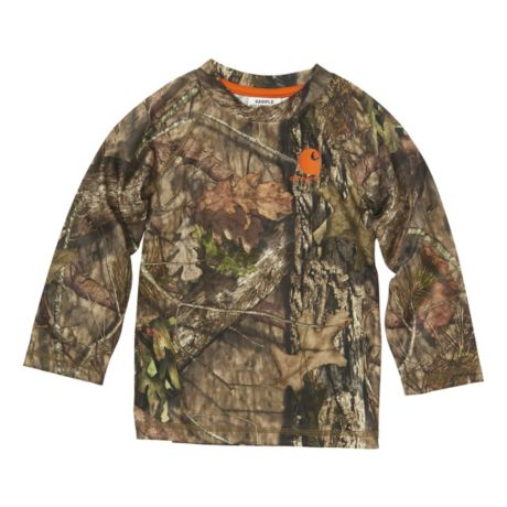 Carhartt® Toddlers' Force® Long-Sleeve Camo Pocket T-Shirt