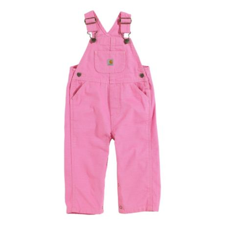 Carhartt® Infants'/Toddlers' Washed Microsanded Canvas Bib Overalls
