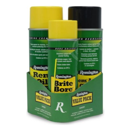 Remington® Rem Oil™, Brite Bore™ and Rem Action Cleaner™ Value Pack