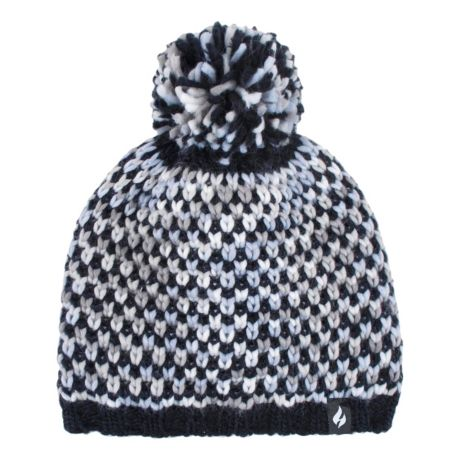 Heat Holders® Women's Scafell Textured Knit Hat - Black