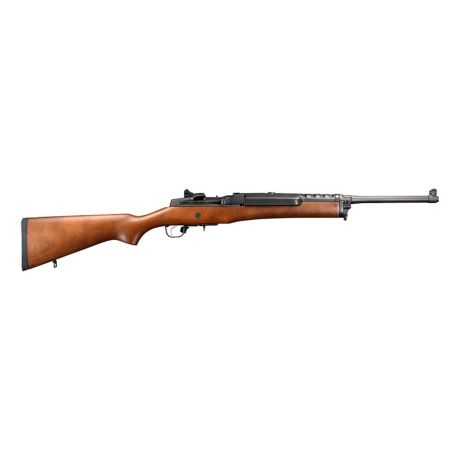 Ruger® Mini-14 Ranch Semi-Auto Rifle - Wood Stock/Blued Barrel