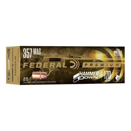 Federal® HammerDown Lever-Action Rifle Ammunition - .357 Magnum