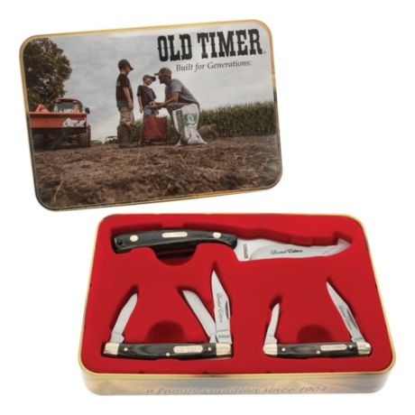 Old Timer® Sharpfinger 3-Piece Gift Tin