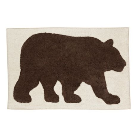 Saturday Knight Ltd. Home Timber Ridge Collection Bear Rug