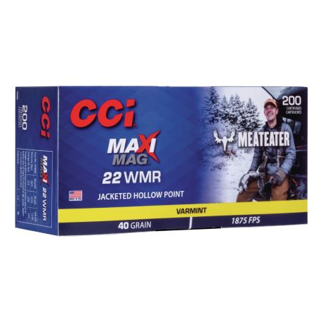 CCI® Meat Eater Series Maxi-Mag .22 WMR Rimfire Ammunition