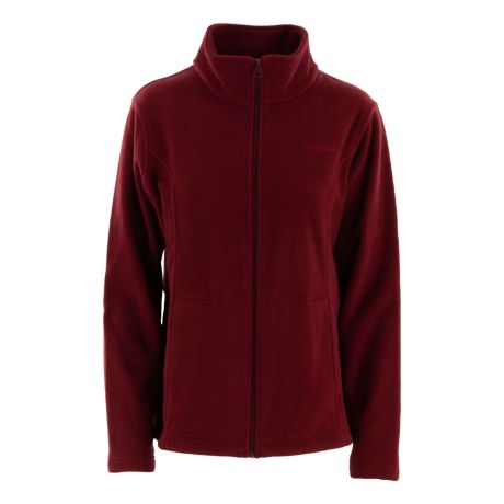 Cabela's Women's Promo Full Zip Fleece Jacket - Cabernet
