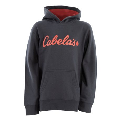 Cabela's Youth Promo Logo Hoodie - Anthracite