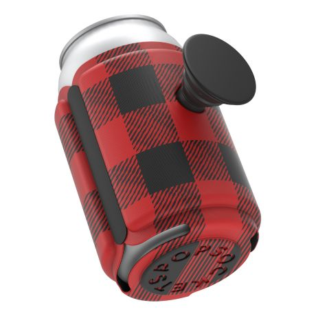 PopSockets® PopThirst - Buffalo Plaid Red
