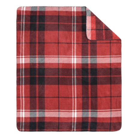 White River Brackendale Plaid Throw