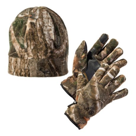 RedHead® Men's Fleece Glove and Beanie Combo - Kanati