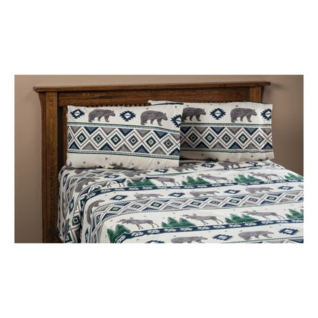 White River Forest Friends Flannel Sheet Set Cabela S Canada