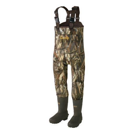 Cabela's Youth Neoprene Boot-Foot Chest Waders