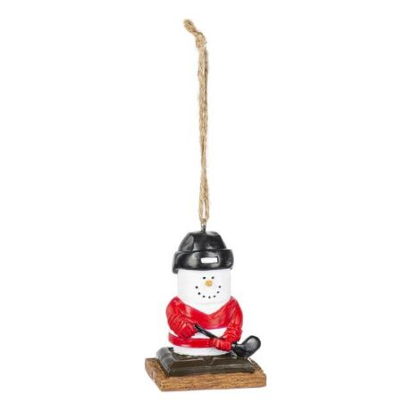 Midwest S'mores Hockey player Ornament