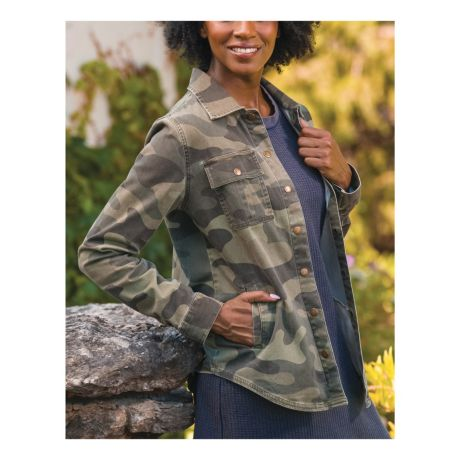 Natural Reflections® Women's Camo Jacket
