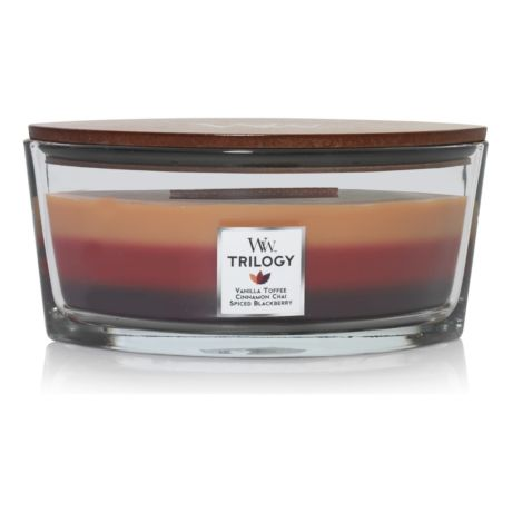 WoodWick® Ellipse Trilogy Candle - Holiday Cheer