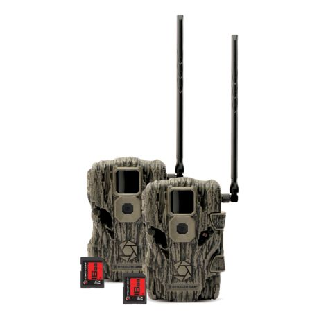 Stealth Cam® Fusion Cellular Trail Camera - 2 Pack Combo