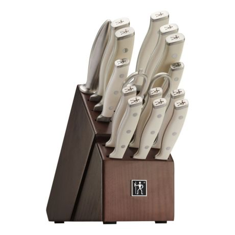 J.A. Henckels International Forged Accent 16 Piece Knife Block Set