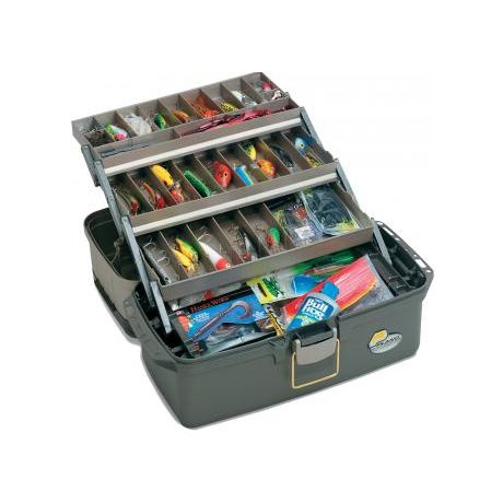 Plano Guide Series Three-Tray Tackle Box