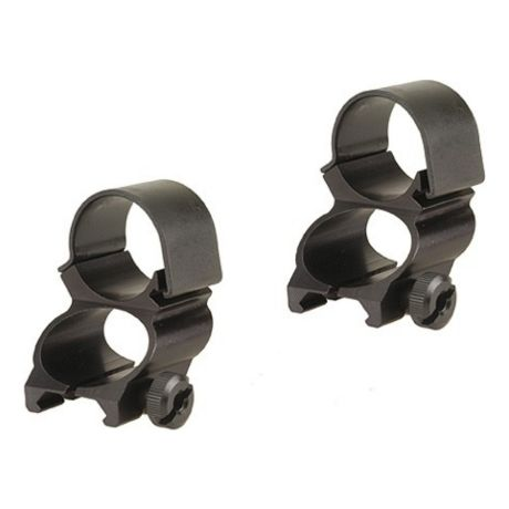 Weaver See-Thru Extended Rings - Matte Black