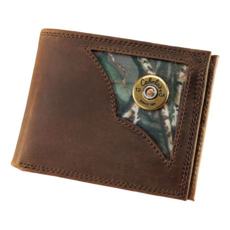 Cabela's Oil-Tanned Leather Shotshell Wallets - Billfold