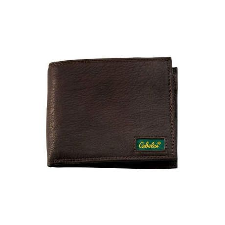 Cabela's Genuine Deerskin Leather Wallets - Billfold