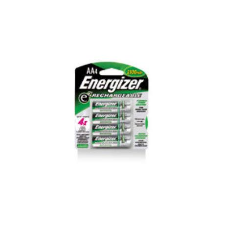 Energizer Rechargeable Batteries - AA 4 Pack
