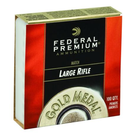 Federal Champion 210M Large Rifle Match Primers - 100 Pack