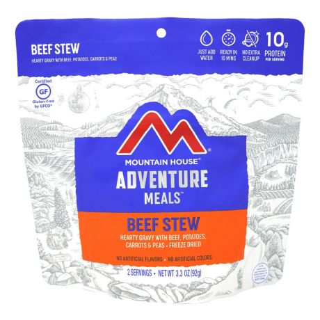 Mountain House Adventure Meals - Hearty Stew Beef