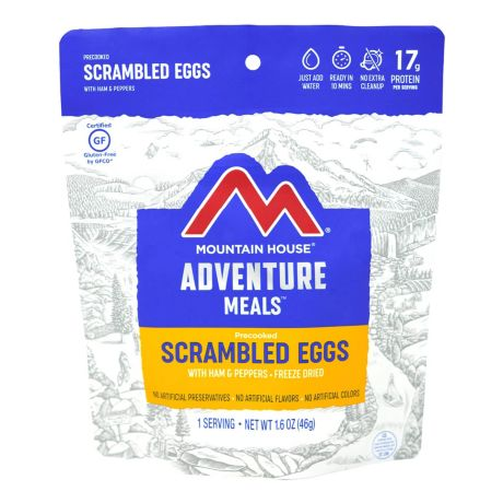 Mountain House® Scrambled Eggs with Ham, Red & Green Peppers