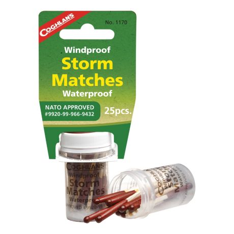 Coghlan's Windproof/ Waterproof Storm Matches
