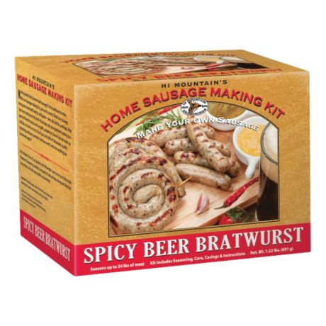 Spicy Beer Bratwurst