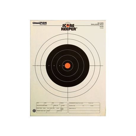 Outers 100 Yd. Small Bore Target