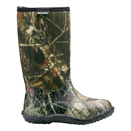 Classic High Camo Rubber Boots