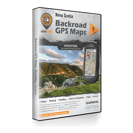 Backroad Mapbooks - Nova Scotia GPS Maps