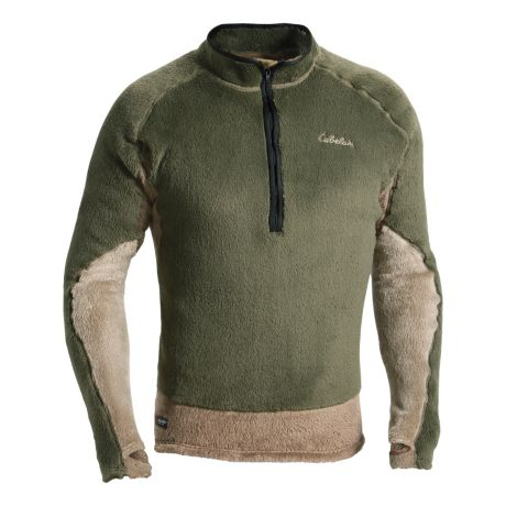 Cabela S Thermal Zone Stand Hunter 1 2 Zip Top Cabela S