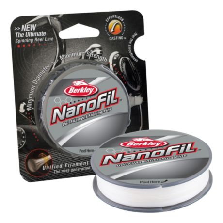 Berkley NanoFil Uni-filament Fishing Line - Clear Mist