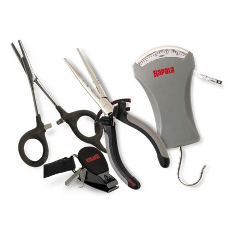 Rapala Sportsman's Fishing Tool Combo - Pliers, Forceps, Scale, Clippers