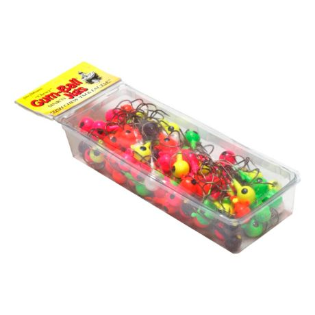 Northland Assorted Painted Gum Ball Jig