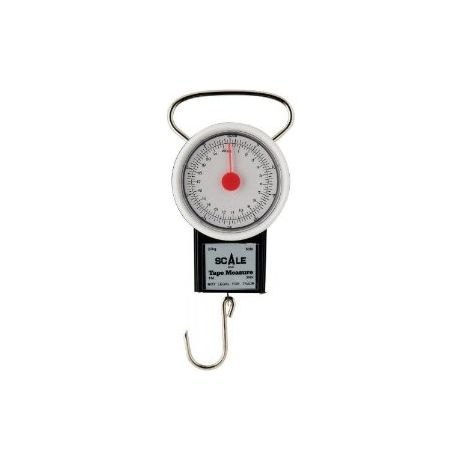 Danielson Deluxe Round Scale With Measuring Tape