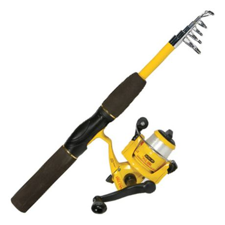 eagle claw packit telescopic fishing combo cabela s canada